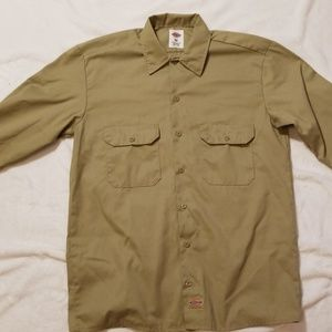 NWOT Dickies LS Button Down Shirt
